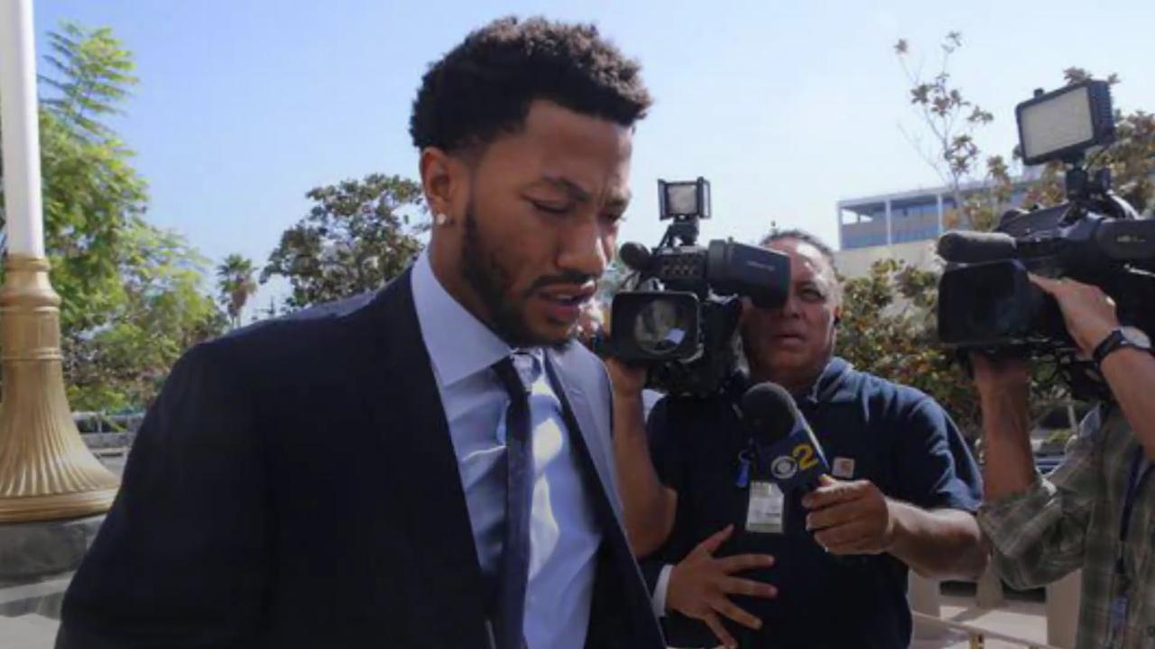 Rose testified he suspected a 'setup' the night after he and two of his friends had sex with his ex-girflriend.