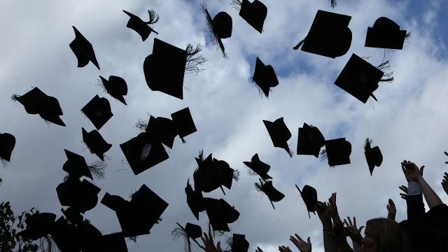The US is getting high marks on high school graduation rates