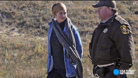 Shailene Woodley live streams her own arrest on Facebook