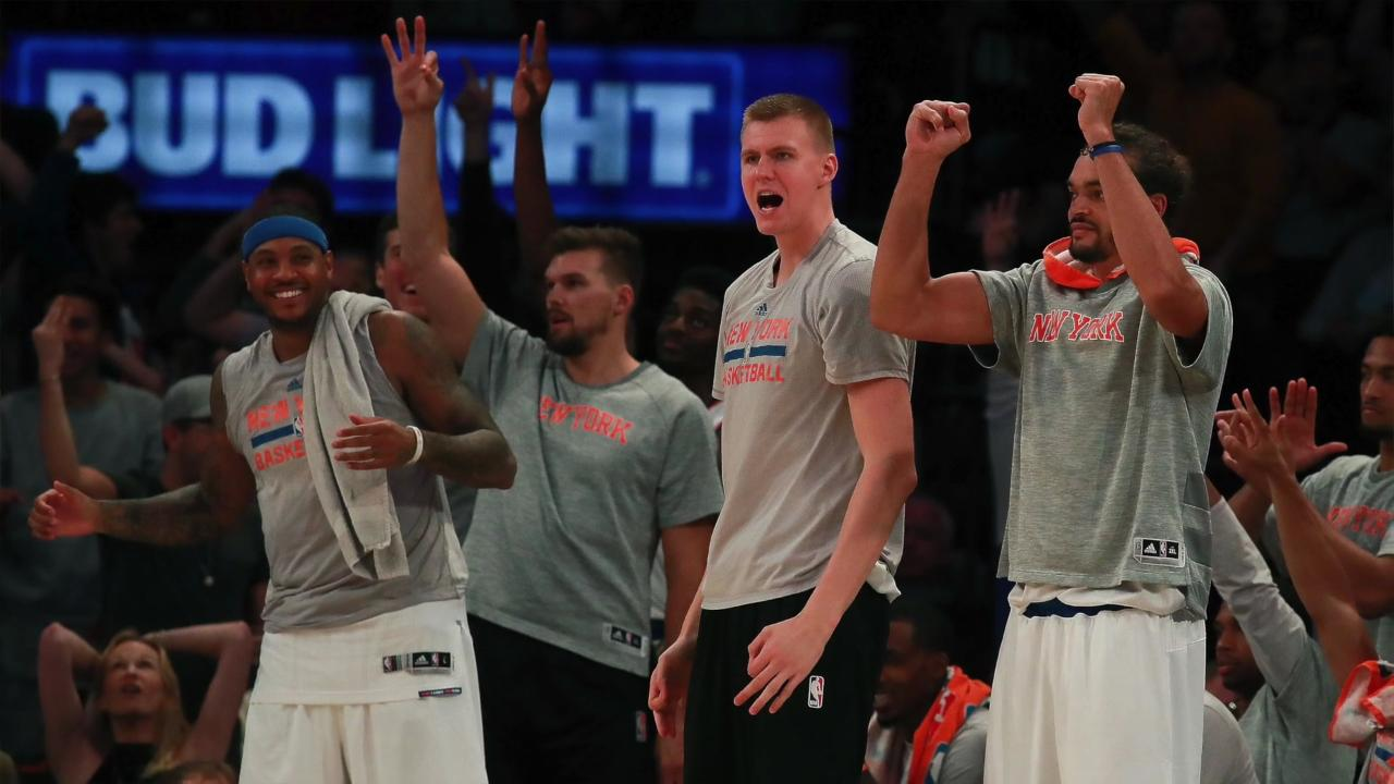 USA TODAY Sports' Jeff Zillgitt examines the new-look Knicks but points out that they are still missing one thing.