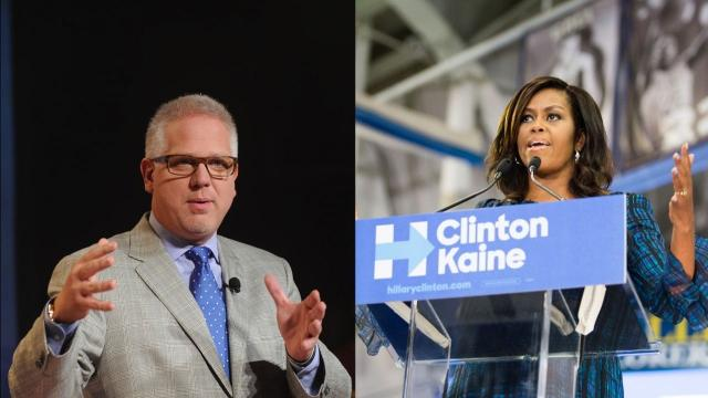 Glenn Beck praises Michelle Obama's speech as incredibly effective