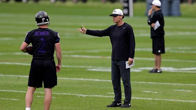 Ravens fire OC Marc Trestman after loss