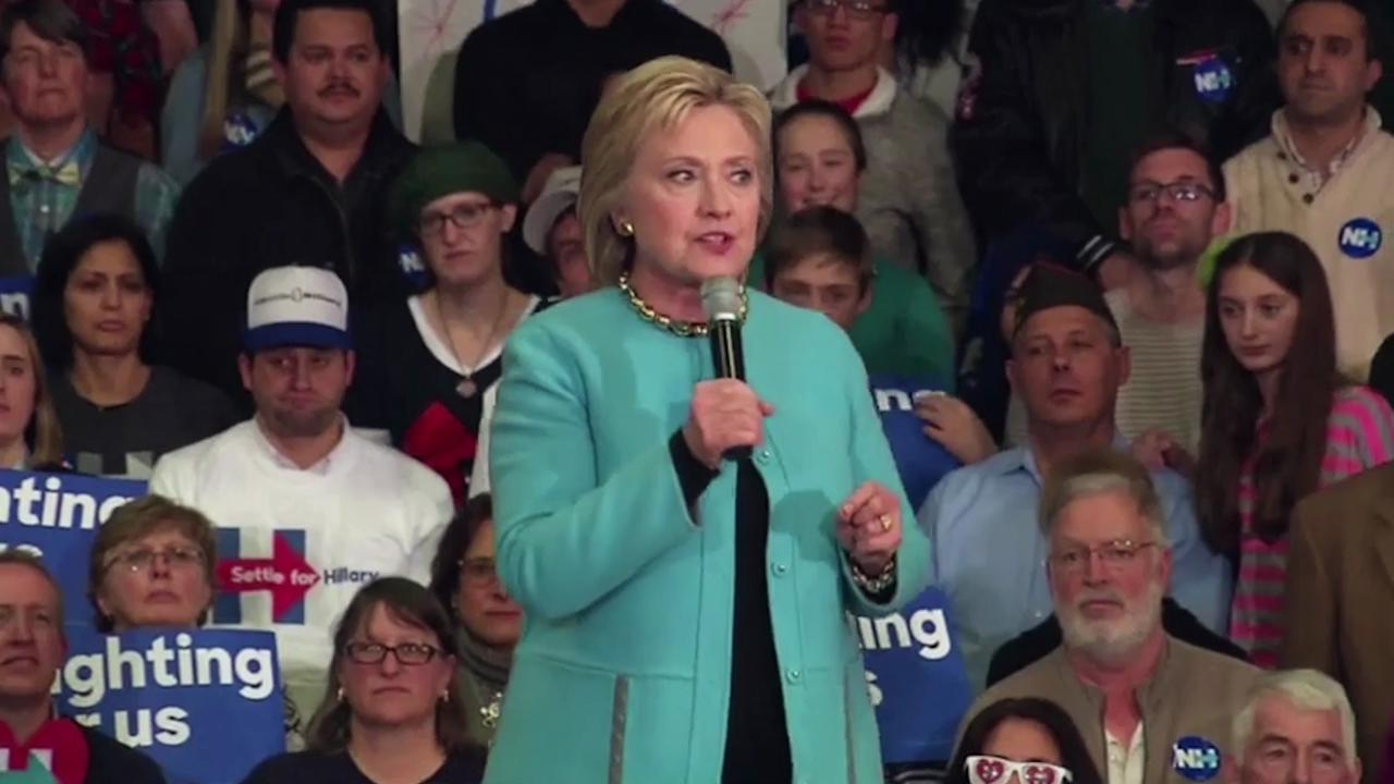 Watch: 'Undecided' stars removed from Clinton event