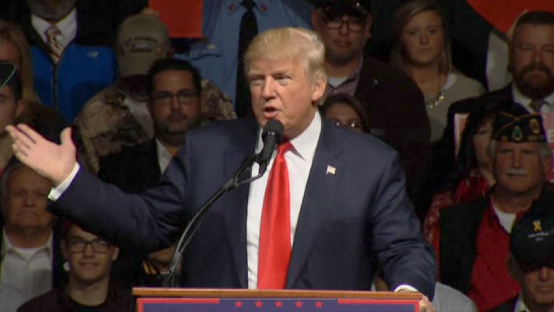 Trump: 'Election is being rigged'