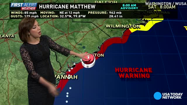 Hurricane Matthew now at category 1