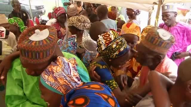 Chibok girls and parents reunited in Abuja