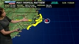 Hurricane Matthew weather update