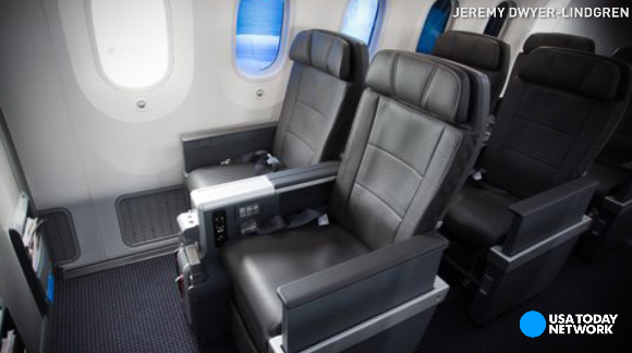 American Airlines' new premium economy seats offer domestic travelers luxurious perks previously reserved for first and businesses classes.