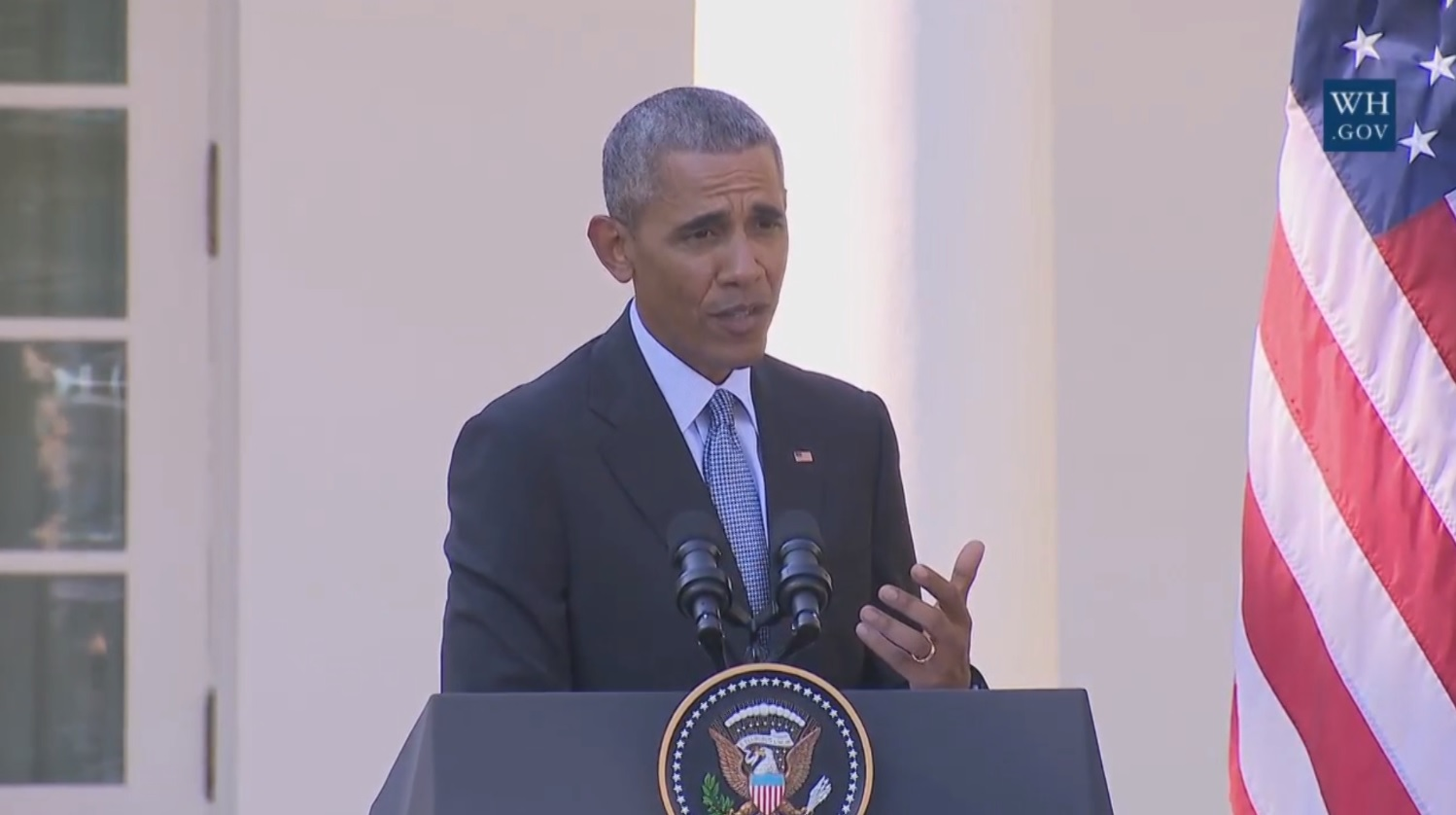 Obama to Trump: 'Stop whining' and try to earn votes