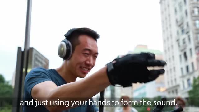 Brilliant new technology makes music out of your hands