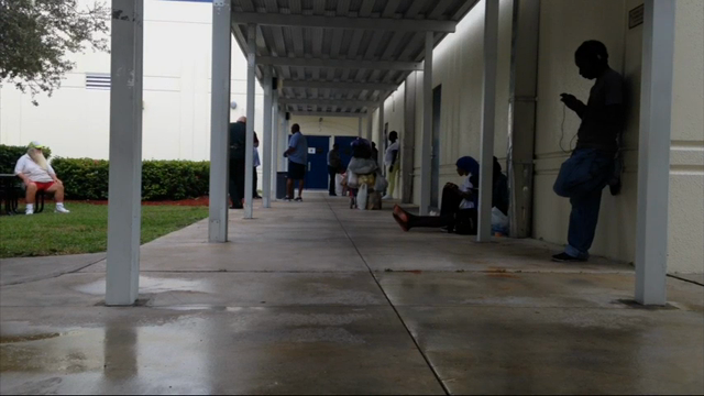 Florida residents seek safety in shelters