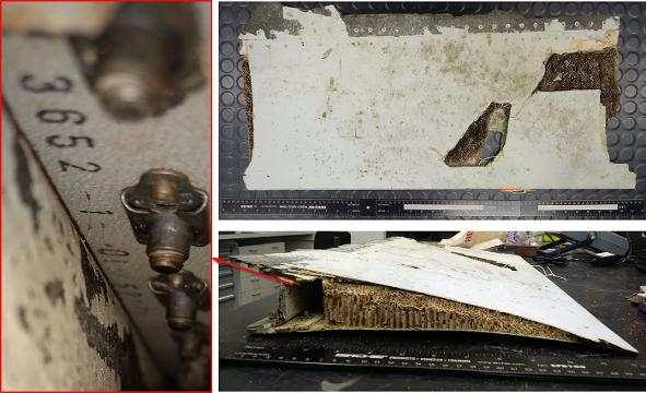 Debris from Flight MH370 in Mauritius