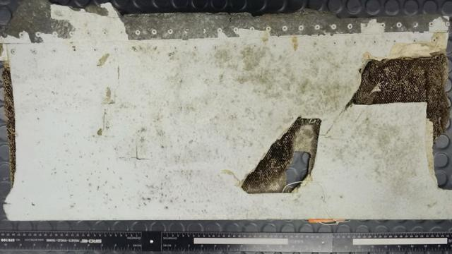 This section of Wing flap has been identified As part of flight MH370