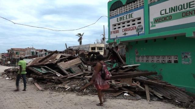 4 days after Matthew, Haiti struggles to recover