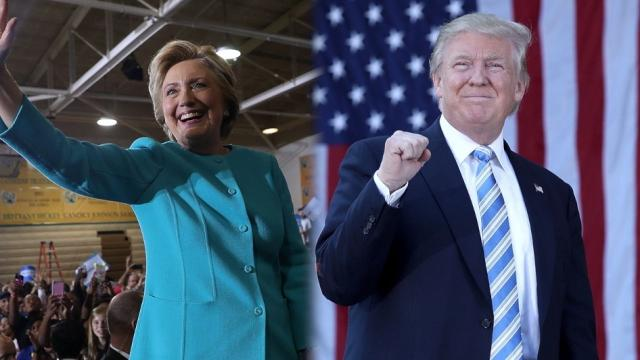 Federal employees donated way more to Clinton than Trump