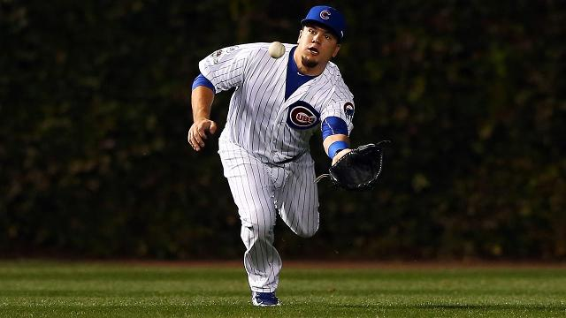 Chicago Cubs slugger Kyle Schwarber has not been medically cleared to play in the outfield as the scene shifts to Chicago for the next three games of the World Series against the Cleveland Indians.