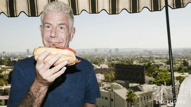Anthony Bourdain's favorite hangover cure