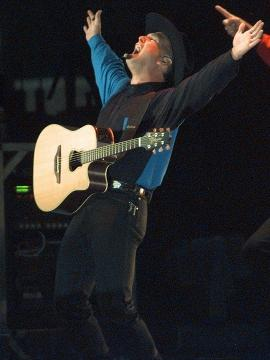 It's official - Garth Brooks has joined the world of music streaming. Amazon announced that parts of Brooks' catalog will be available to stream exclusively on its recently announced Amazon Music Unlimited.