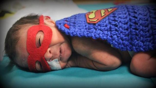 NICU nurse dresses tiny patients as superheroes for Halloween