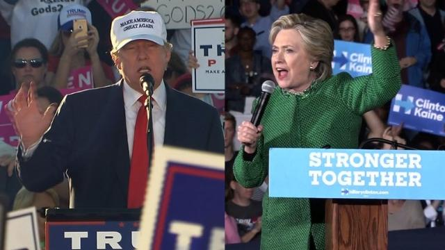Clinton looks to consolidate lead over Trump