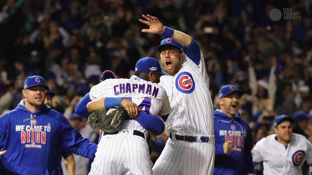 The last time the Cubs were in the World Series...