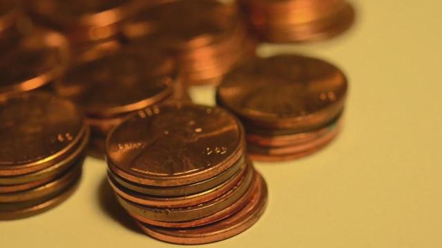 Pennies worth $1k hidden across U.S.