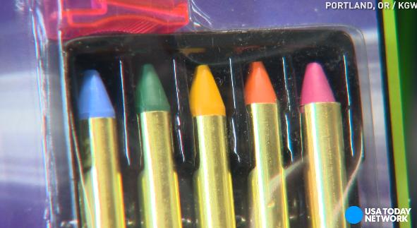 Toxic metals found in kids' Halloween makeup