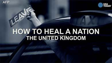 How to heal a nation: Advice from the U.K.