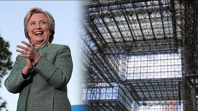 Clinton will hold her election night event in a glass building. Video provided by Newsy