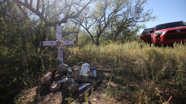 The U.S. put more walls and officers at sections of the border with Mexico. But regions with difficult terrain are leading to more migrant deaths.