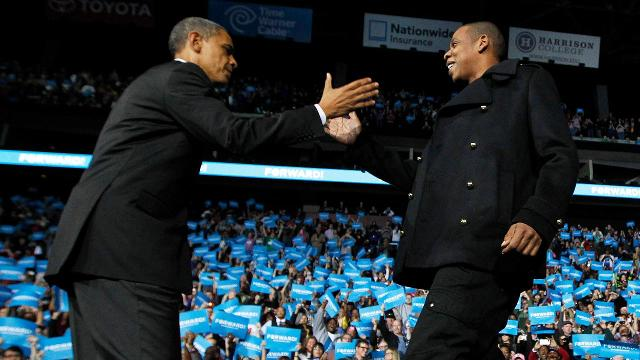From referencing Jay Z's lyrics to dropping the mic at his final White House Correspondents' Dinner, TIME looks back at President Obama's best rap moments.