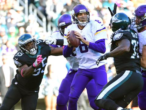 Week 7 NFL Hot Reads: Vikings' weaknesses exploited
