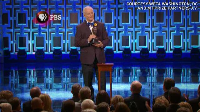 Bill Murray 'dazed by' Mark Twain Prize