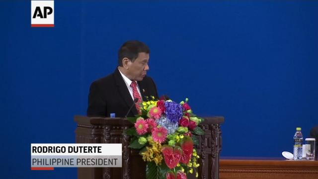 Duterte Announces 'Separation' From US