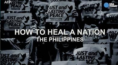 How to heal a nation: Advice from the Philippines