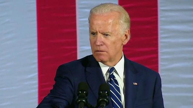 During a speech at Wilkes University in Pennsylvania on Friday while campaigning for Hillary Clinton, Biden addressed Trump's aggressive and lewd remarks about women from a recently leaked 2005 video.