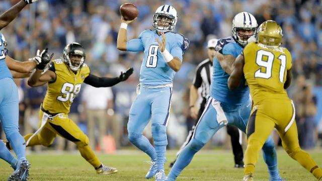 The Tennessee Titans cruised past the Jaguars behind a stunning performance from running back DeMarco Murray.