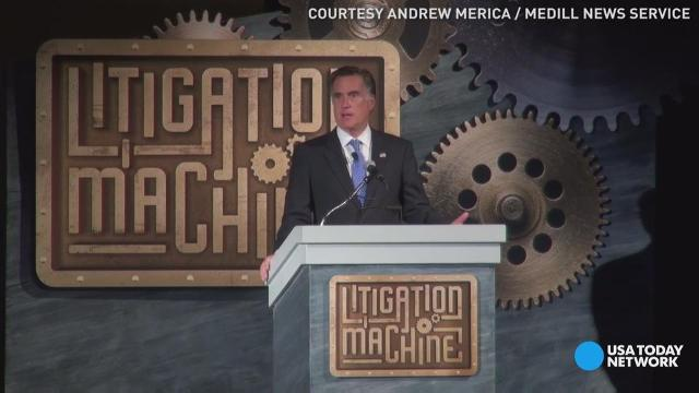 Mitt Romney: Federal government is failing Americans