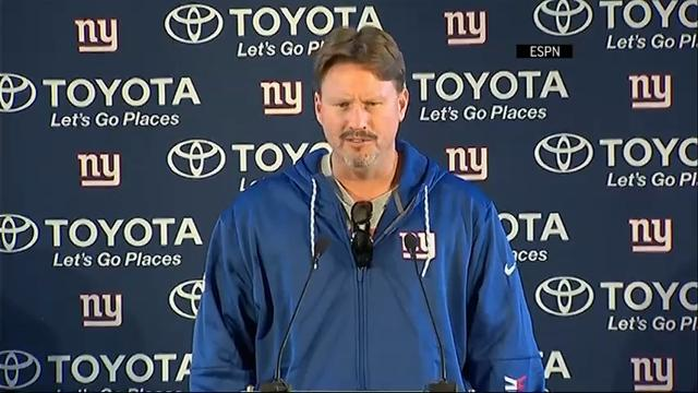 Giants coach Ben McAdoo addresses Josh Brown situation