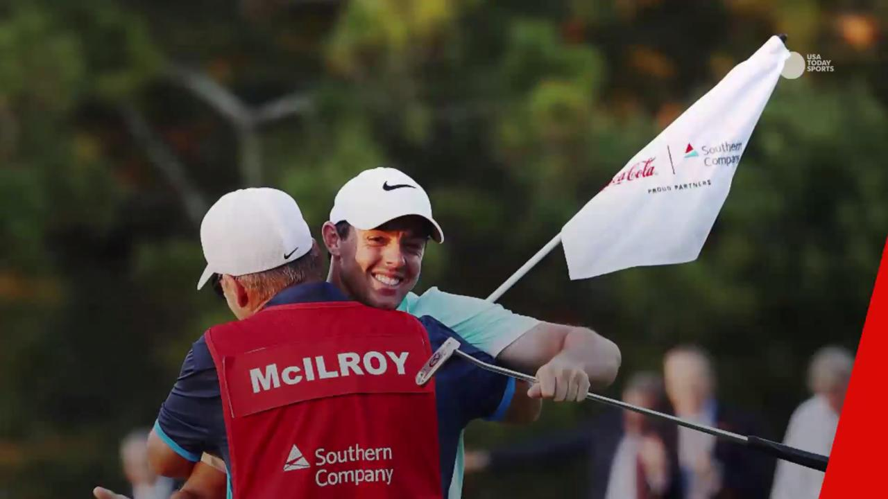 Rory McIlroy didn't have to check his bank account to know that his FedEx Cup bonus had been deposited. His caddie, J.P. Fitzgerald, informed him with a text message.