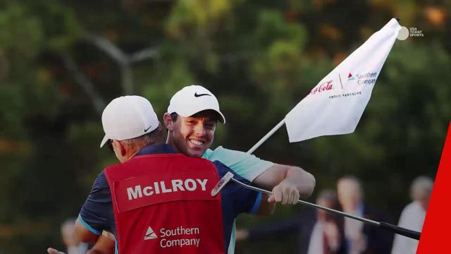 Rory McIlroy's caddie cashes in on FedEx Cup