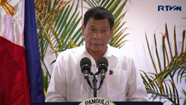 Philippine President Duterte: God told me to stop cussing