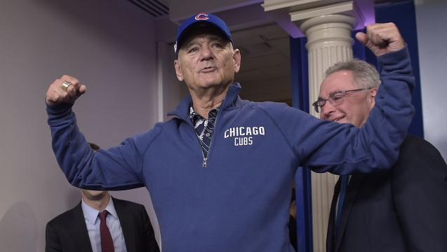 Bill Murray 'dazed' by comedy prize