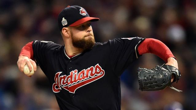 Kluber, Perez spark Indians' World Series Game 1 win