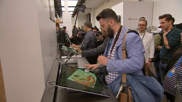 Microsoft took the wraps off new Surface hardware at an event in New York City, coupling it with an update to Windows 10 airmed at consumers and content creators. (Oct. 26)