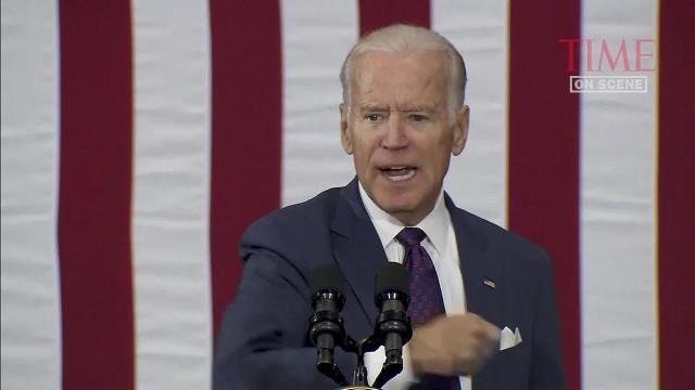 Joe Biden hits Donald Trump over Russian hacking