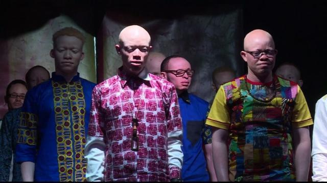 Kenya fights deadly stigma with albino beauty pageant