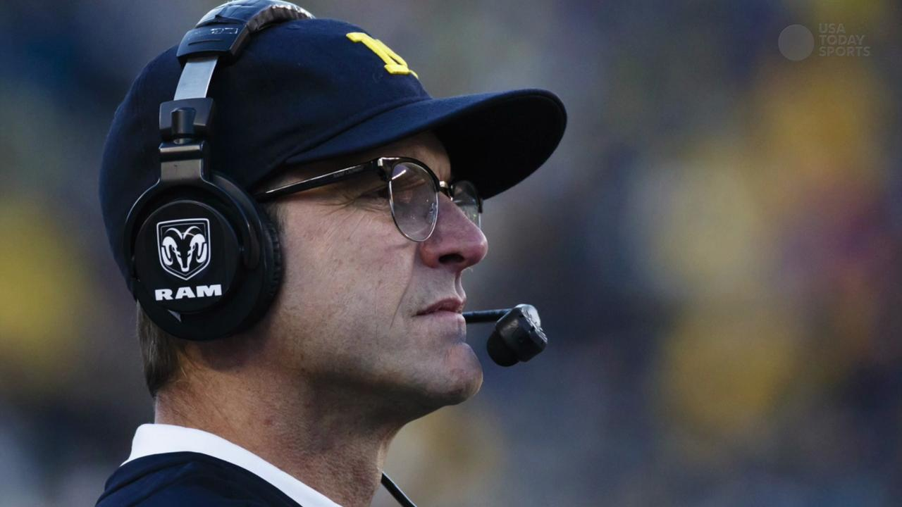 Can Jim Harbaugh become college football's $10 million man?