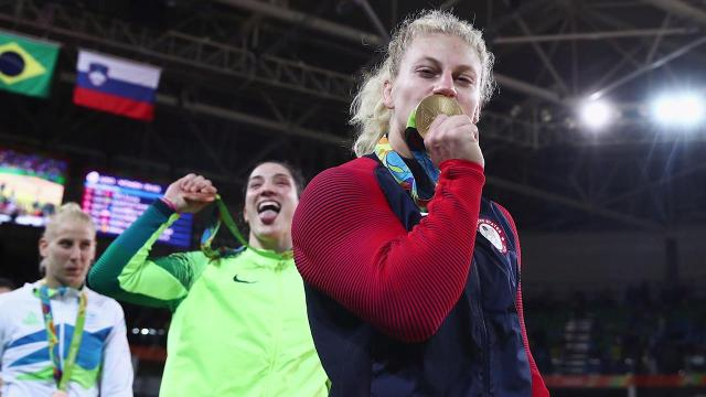 Two-time Olympic gold medalist Kayla Harrison plans to become an MMA fighter.