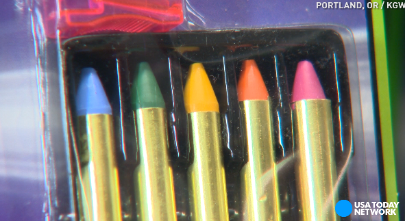 Tests find toxic metals in children's Halloween makeup